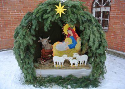 Новогодние и рождественские фотозоны